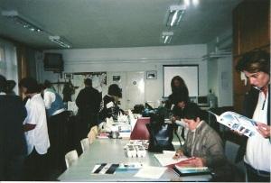 Hungarian classroom