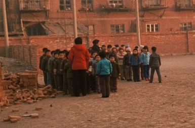 Schoolkids in China